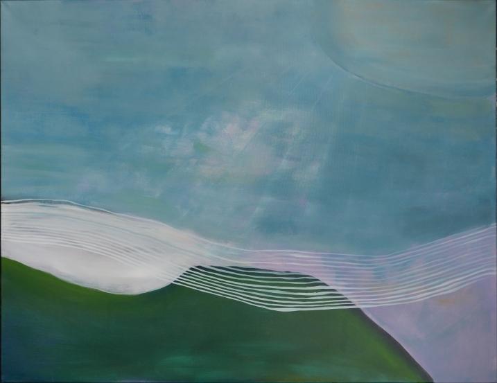 161025, 100x130 cm, acryl on linen, 2016